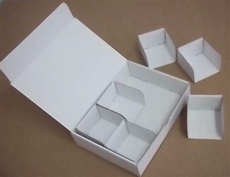 boites  compartiments carton cartoval