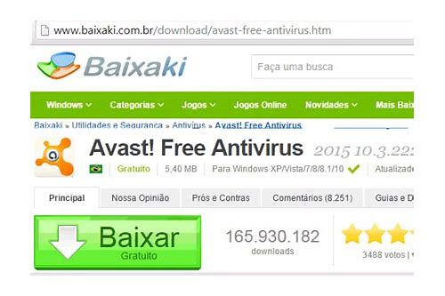 baixar gratuito de software antivirus cnet