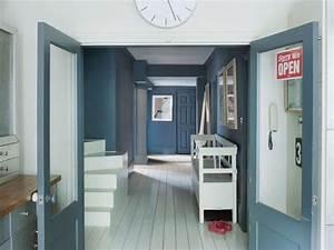 peindre un parquet en blanc ou en couleur joli place With peindre un parquet en blanc