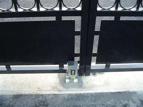 serrure electrique portail serrure 233 lectrique portail cl 244 tures