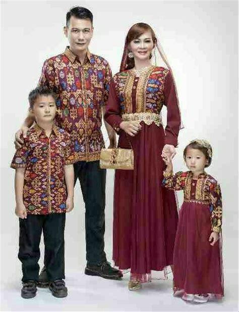 jual baju batik sarimbit keluarga couple family