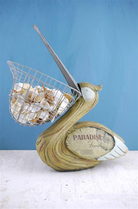 pelican  wire basket beak