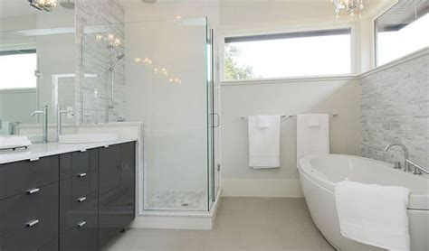 bathrooms tiles ideas 20 idee di arredamento bagno in grigio mondodesign it