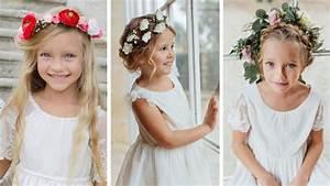 Couronne De Fleurs Mariage Petite Fille : coiffure avec couronne de fleurs nos id es ~ Dallasstarsshop.com Idées de Décoration