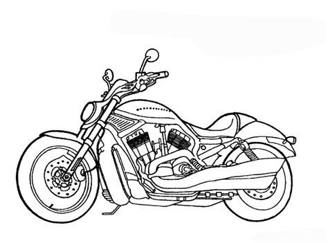 Ausmalbilder und downloaden, malvorlagen für kinder. Malvorlagen zum Ausdrucken Ausmalbilder Motorrad kostenlos 2