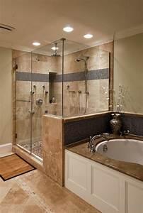 Carrelage Travertin Leroy Merlin : le carrelage beige pour salle de bain 54 photos de salles de bain beiges ~ Voncanada.com Idées de Décoration