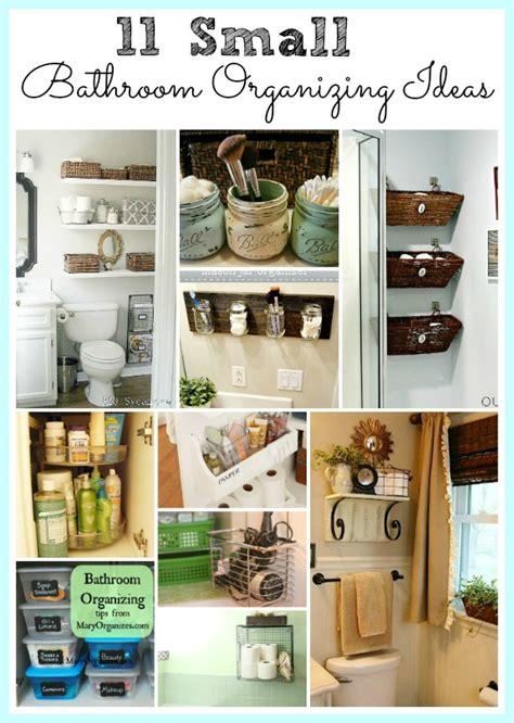organized bathroom ideas 11 fantastic small bathroom organizing ideas