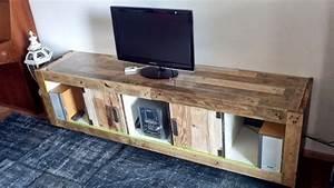 Idee Meuble Tv Fait Maison : ikea meubles tv id es de meubles fabriquer soi m me ~ Melissatoandfro.com Idées de Décoration
