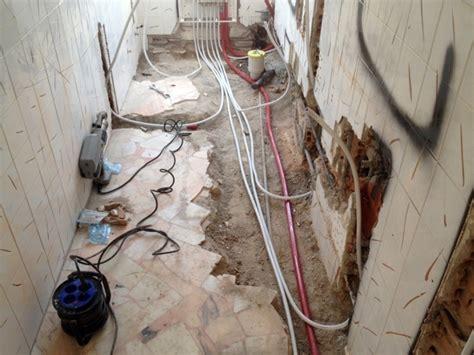 Impianto Idraulico Bagno by Foto Rifacimento Bagno Con Impianto Idraulico Di Imp