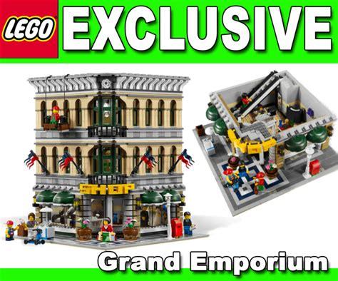 lego creator exclusive sets  grand emporium