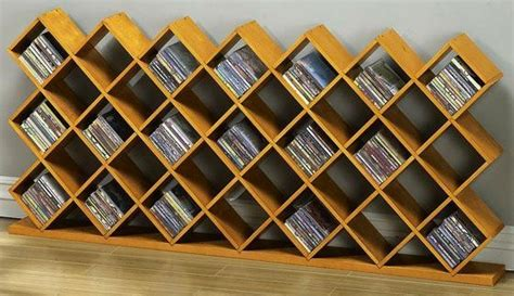 dvd storage rack plans woodworking projects plans