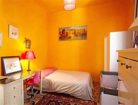 chambre jaune chambre orange et jaune