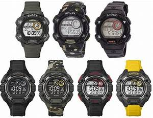 Timex Expedition Shock Digital Mens Watch - Indiglo