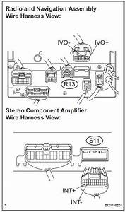 Toyota Sienna Service Manual  Navigation Voice Circuit