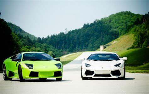 Green n White Lamborghini HdWallpaper - 9to5 Car Wallpapers