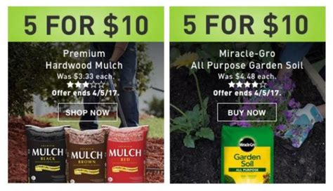 Bags Of Mulch And Garden