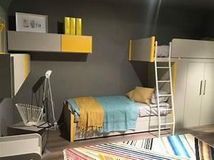 Lit Gain De Place : lit enfant original pour une chambre de fille et de gar on ~ Premium-room.com Idées de Décoration
