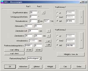 Zähnezahl Berechnen : zar1 zahnradberechnung ~ Themetempest.com Abrechnung