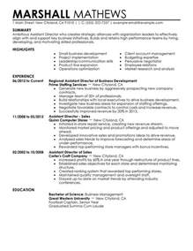 resume for personal assistant to director unforgettable assistant director resume exles to stand out myperfectresume