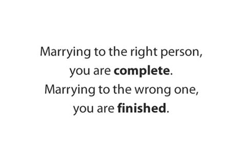 Quotes Marrying Wrong Person