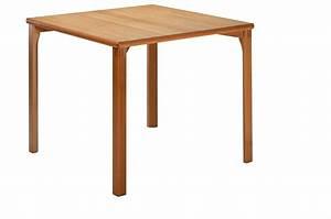 Table En Bois Carré : table carr bois massif table en bois massif acomodo ~ Teatrodelosmanantiales.com Idées de Décoration