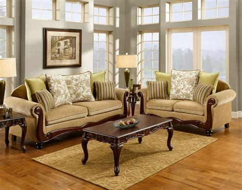 Traditional Sofa Set Fa7690