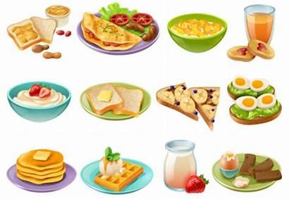 Children Meals Different Kinds Foods Summer