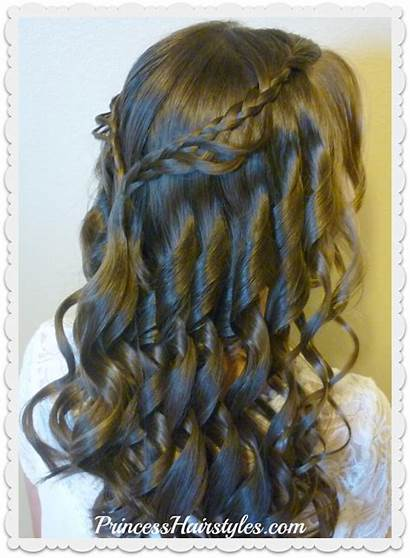 Hairstyle Grade Dance 8th Hairstyles Princess Braided