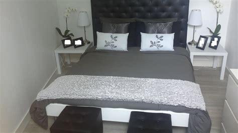 chambre noir blanc chambre noir blanc argent design de maison