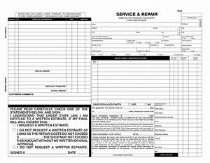 auto repair form invoice samples wilson printing With free auto repair invoice form