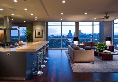 appartement cuisine americaine quelques exemples de joli aménagement de cuisine ouverte