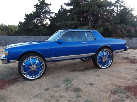 2 door caprice for sell used 1987 chevrolet caprice classic coupe 2 door 5 0l