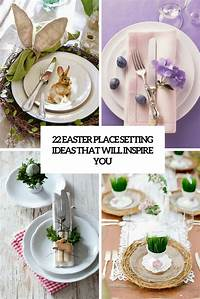 place setting ideas 22 Easter Place Setting Ideas That Will Inspire You - Shelterness