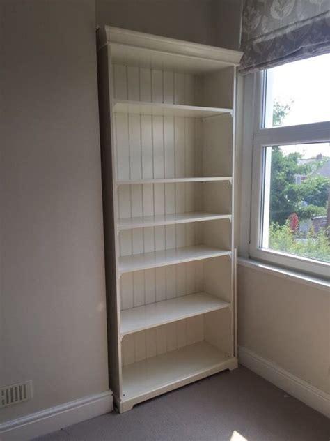 libreria liatorp ikea liatorp bookcase white shelves in roath cardiff