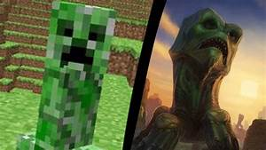 Minecraft - MOBS NA VIDA REAL! (MOBS IN REAL LIFE ...