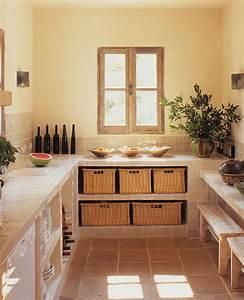 Fabriquer Une Table De Cuisine Avec Un Plan De Travail : comment choisir son plan de travail marie claire ~ Nature-et-papiers.com Idées de Décoration