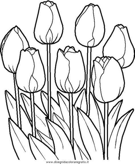 midisegni fiori primavera