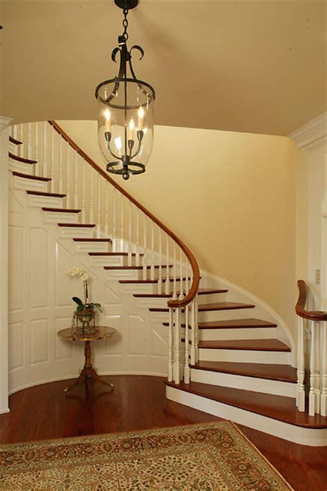 period colonial home staircase philadelphia