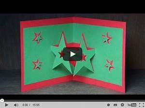 Pop Up Karte Weihnachten : weihnachten und sternen pop up karten selber basteln ~ Buech-reservation.com Haus und Dekorationen