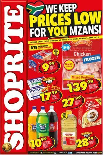 gauteng limpopo north west mpumalanga shoprite deals