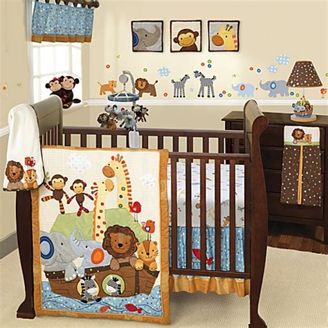 noahs ark crib bedding lambs 174 s s noah bedding collection buybuybaby