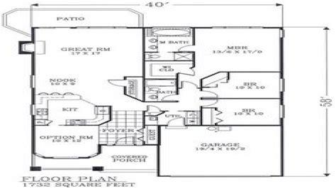 craftsman open floor plans craftsman open floor plans craftsman bungalow floor plans