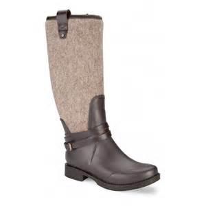 ugg australia sale dillards ugg australia 39 korynne 39 waterproof rubber boot in chocolate footwear from voila uk