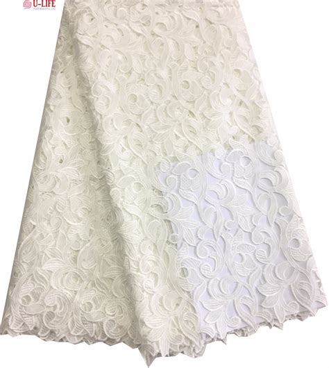 aliexpress buy white bridal wedding lace high quality swiss cotton guipure lace fabric 5
