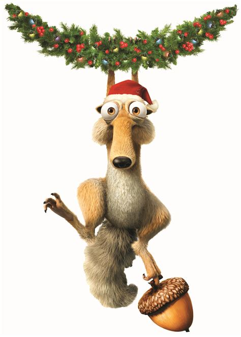 merry christmas tom scrat ice age iphone