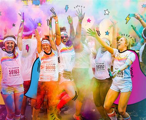 color run paint home the color run