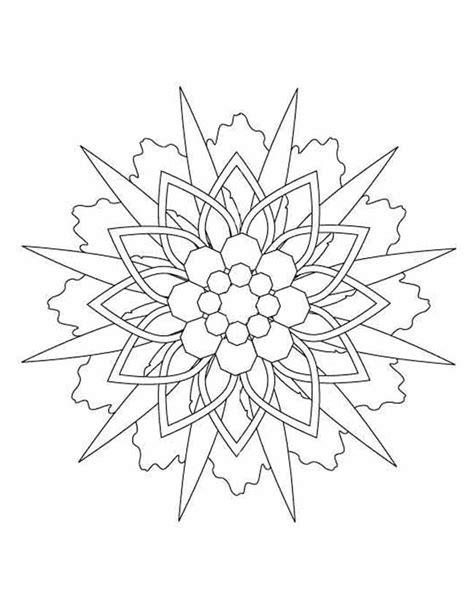 Mandala Kleurplaten by Kleuren Nu Sterren Mandala Kleurplaten