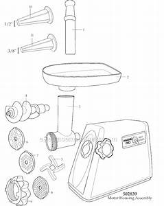 Waring Mg100 Parts List And Diagram   Ereplacementparts Com
