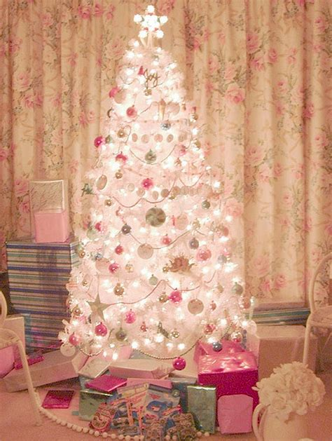 and beautiful pink trees ornament