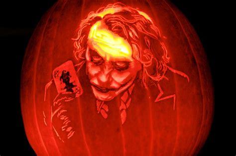 Joker Pumpkin Stencil Drone Fest